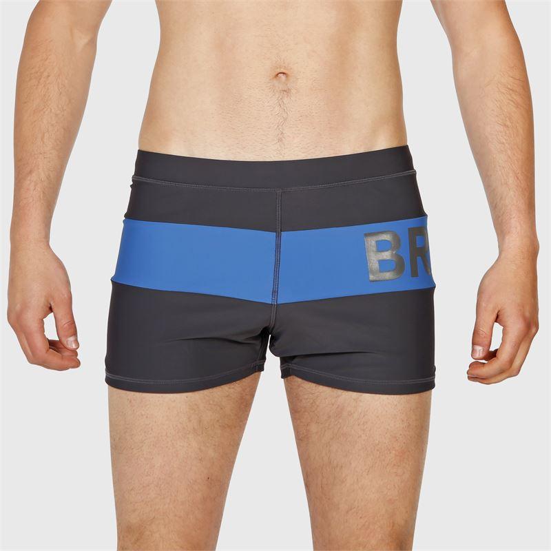 Brunotti Berkley-Col-Block  (grau) - herren schwimmshorts - Brunotti online shop