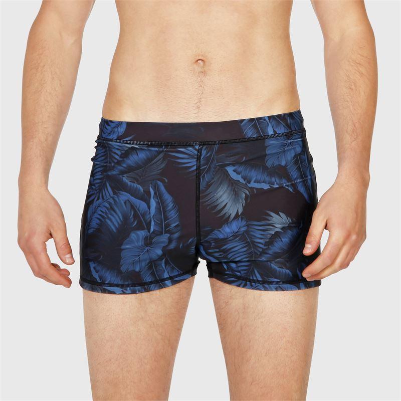 Brunotti Spencer-AO  (zwart) - heren zwemshorts - Brunotti online shop
