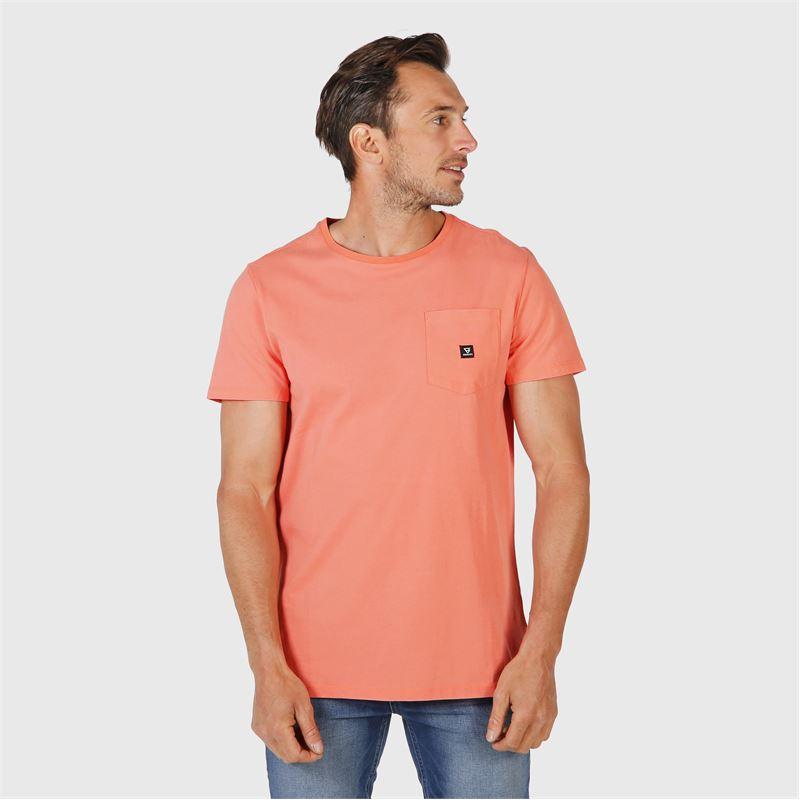 Brunotti Axle  (pink) - men t-shirts & polos - Brunotti online shop