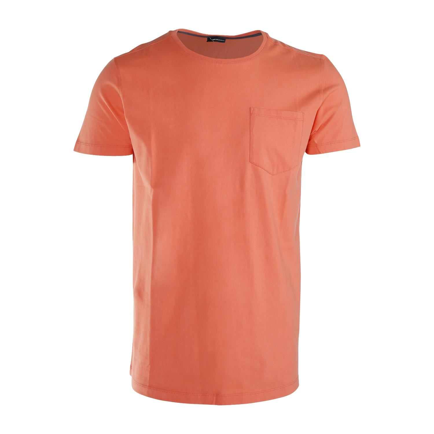 Brunotti Axle  (roze) - heren t-shirts & polo's - Brunotti online shop