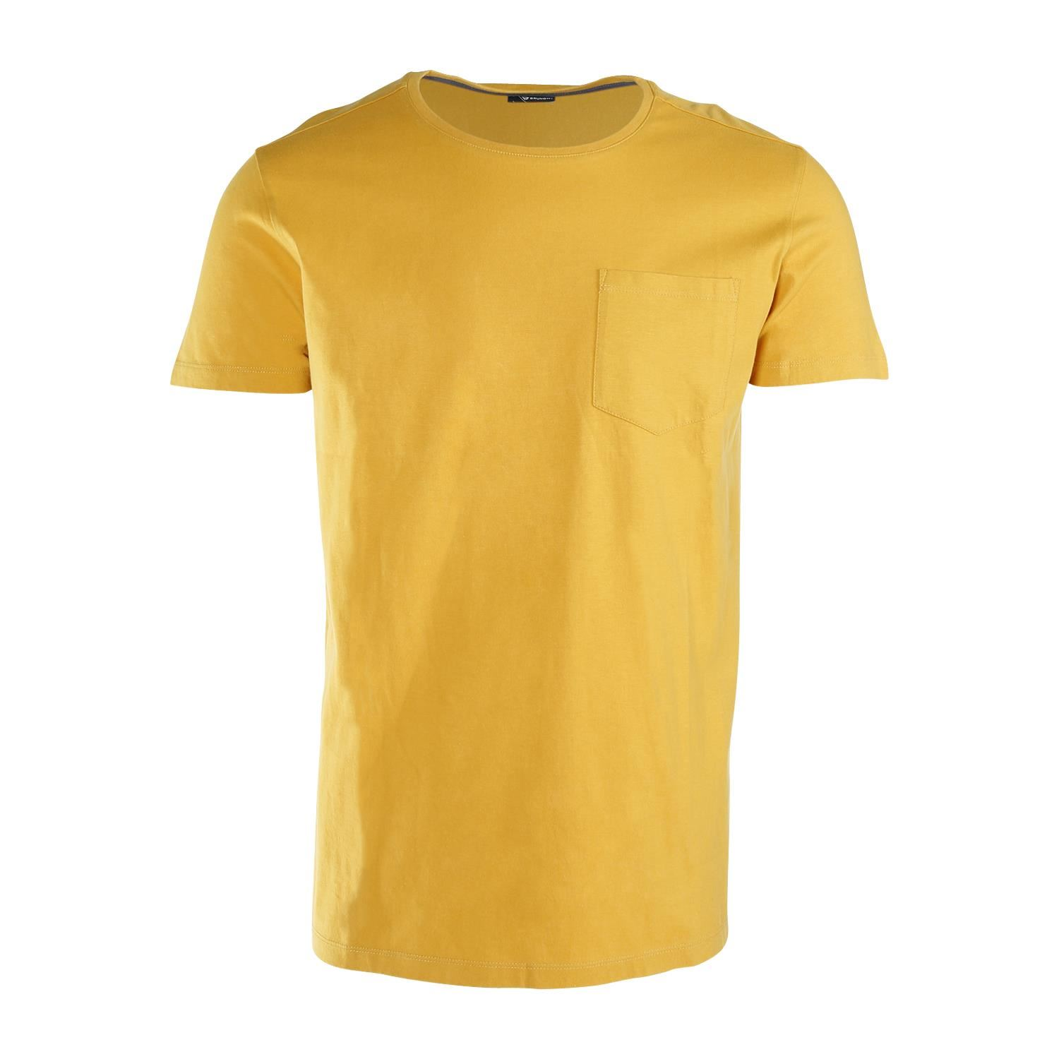 Brunotti Axle  (geel) - heren t-shirts & polo's - Brunotti online shop