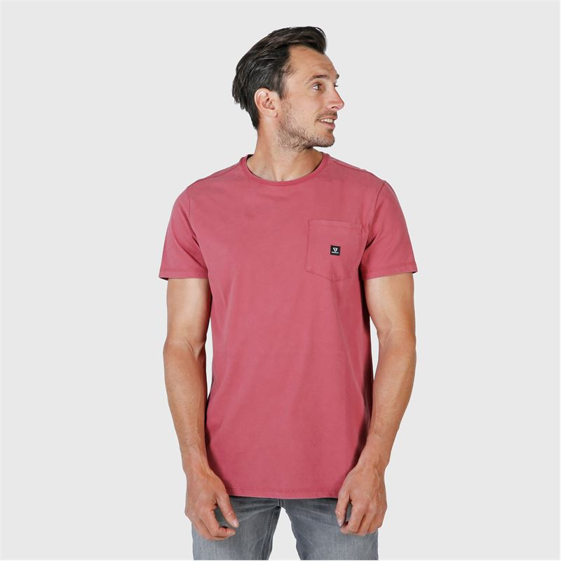 Brunotti Axle  (rood) - heren t-shirts & polo's - Brunotti online shop