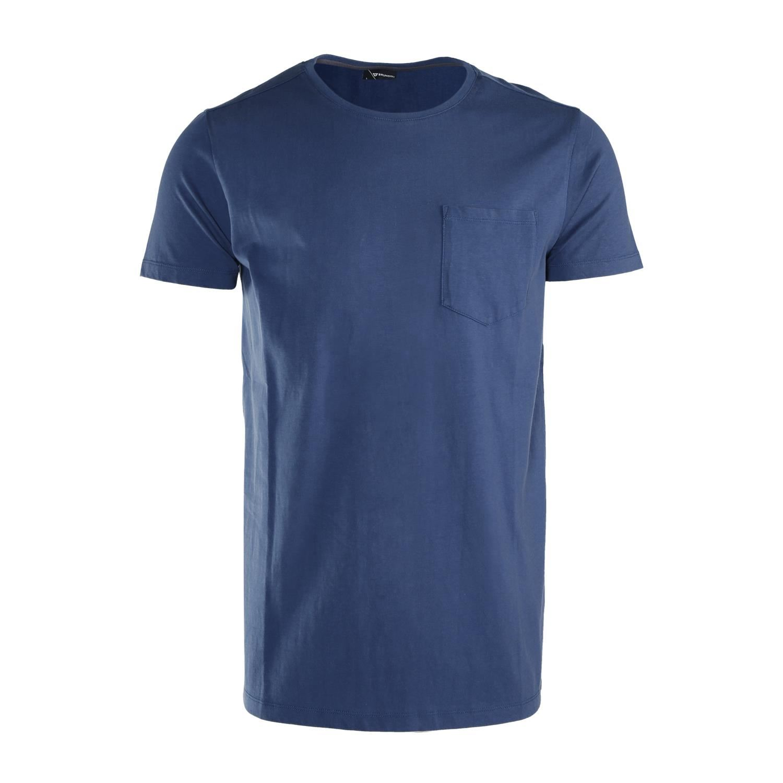 Brunotti Axle  (blauw) - heren t-shirts & polo's - Brunotti online shop
