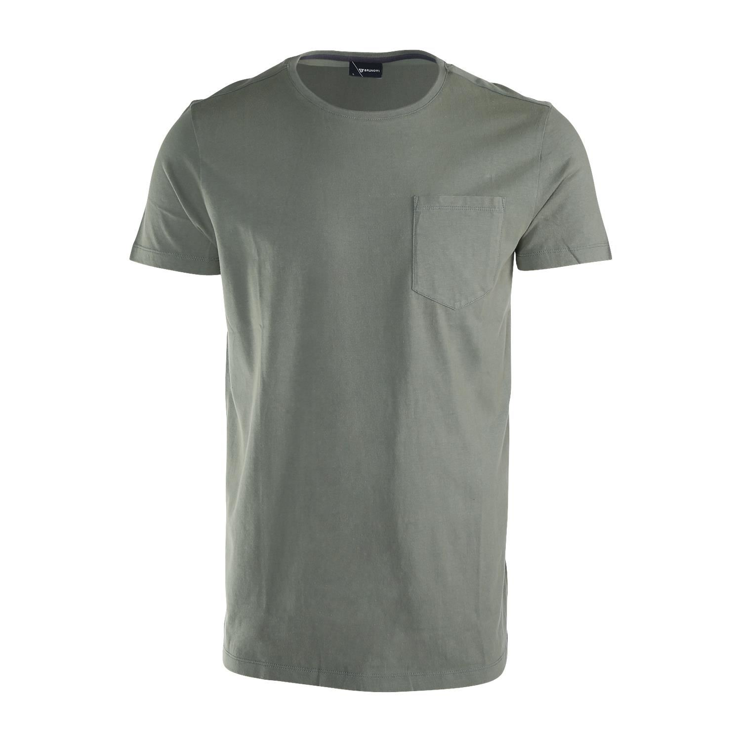Brunotti Axle  (groen) - heren t-shirts & polo's - Brunotti online shop