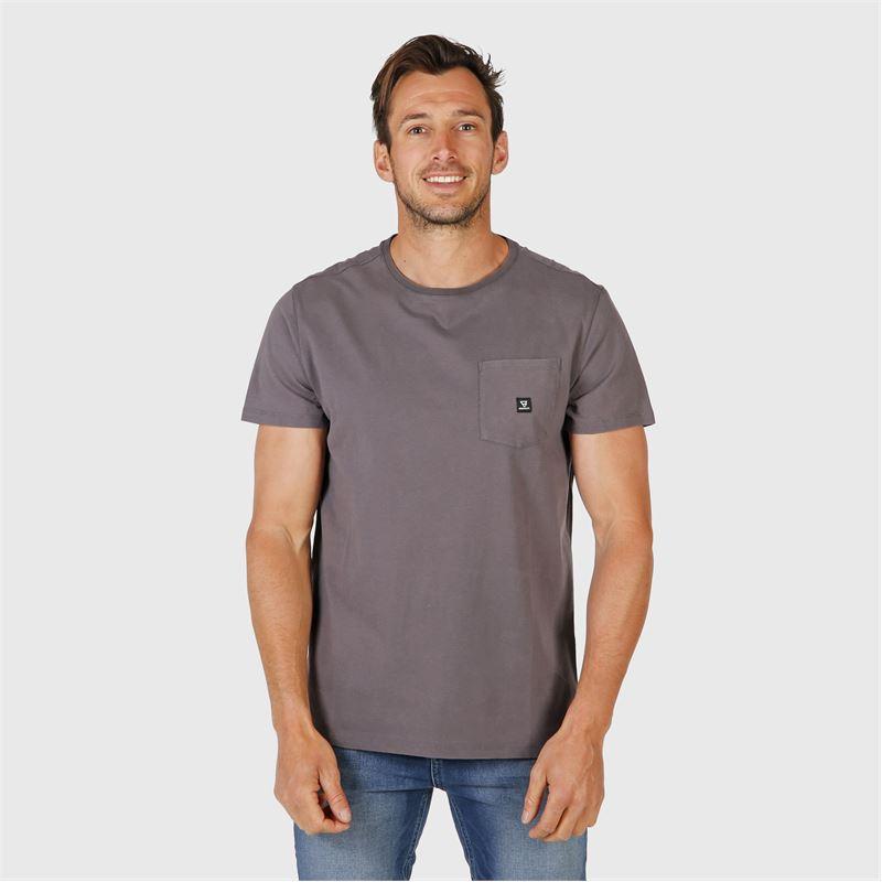 Brunotti Axle  (grey) - men t-shirts & polos - Brunotti online shop