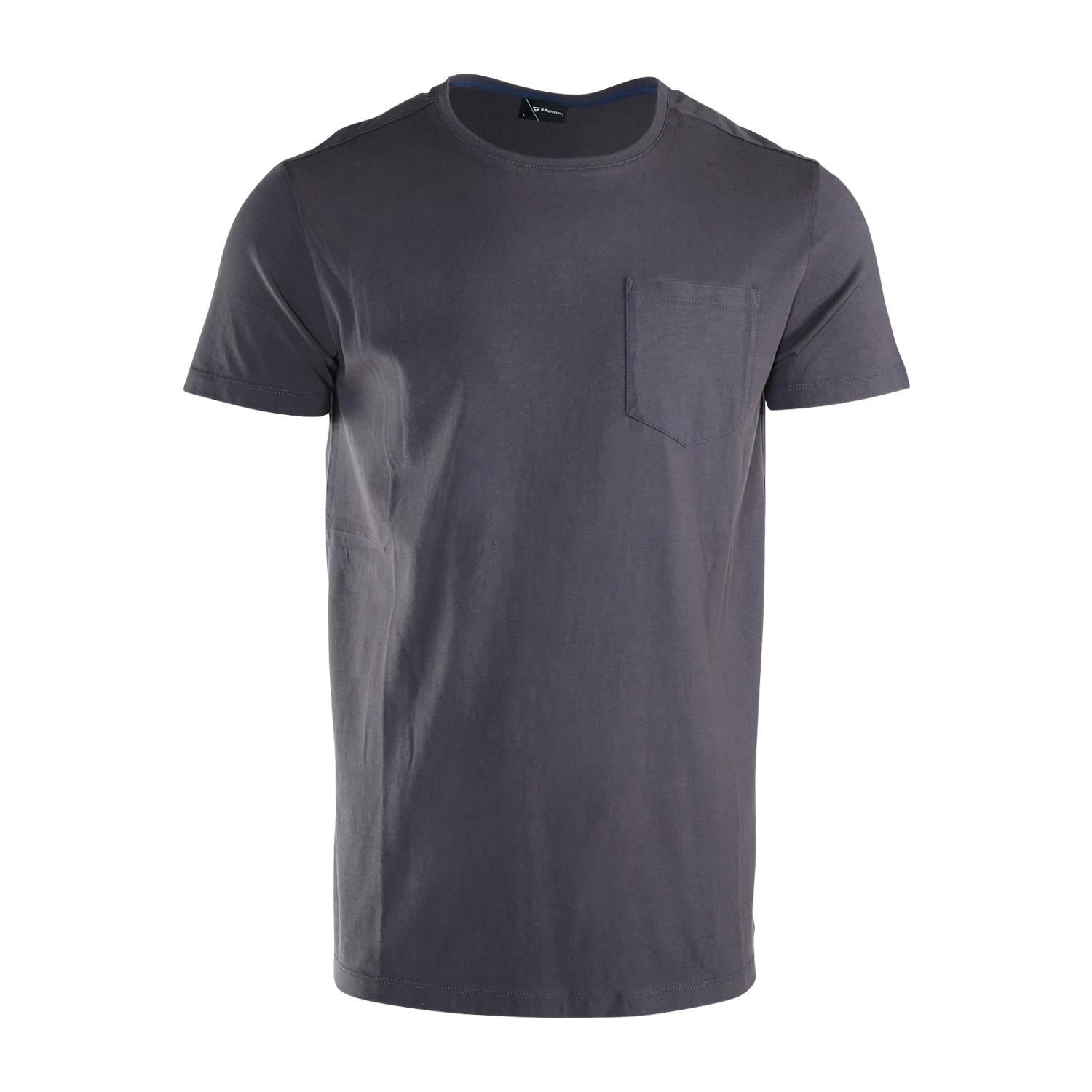Brunotti Axle  (grey) - men t-shirts & polos - Brunotti online shop