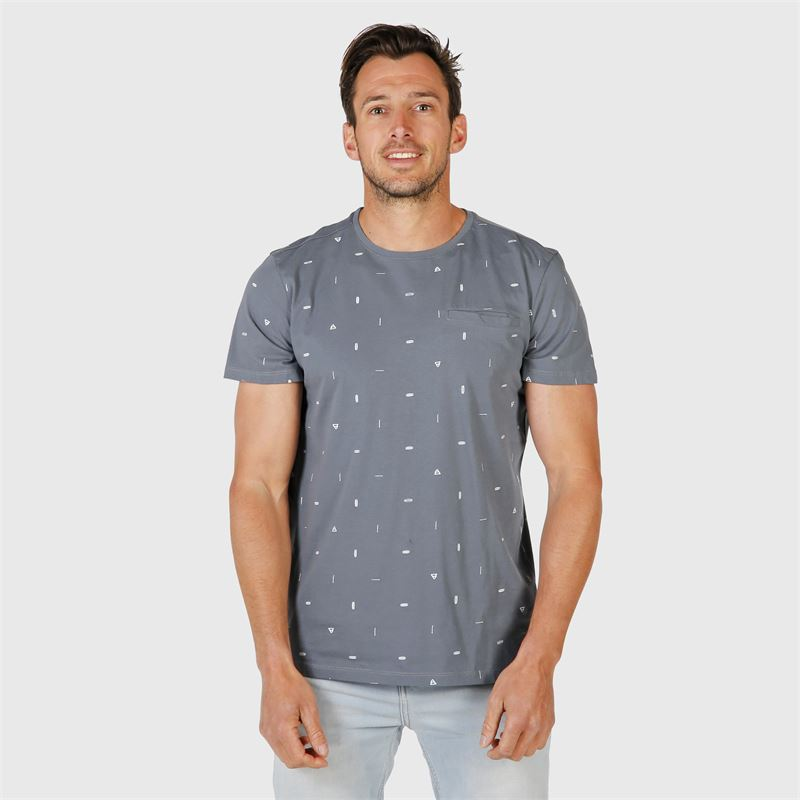 Brunotti Ben-Mini  (blue) - men t-shirts & polos - Brunotti online shop
