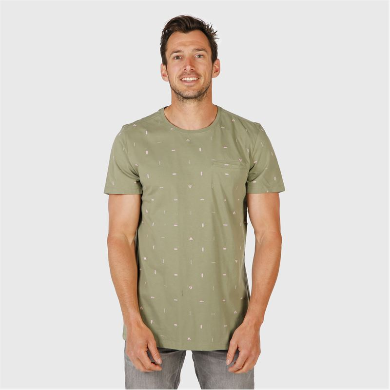 Brunotti Ben-Mini  (green) - men t-shirts & polos - Brunotti online shop
