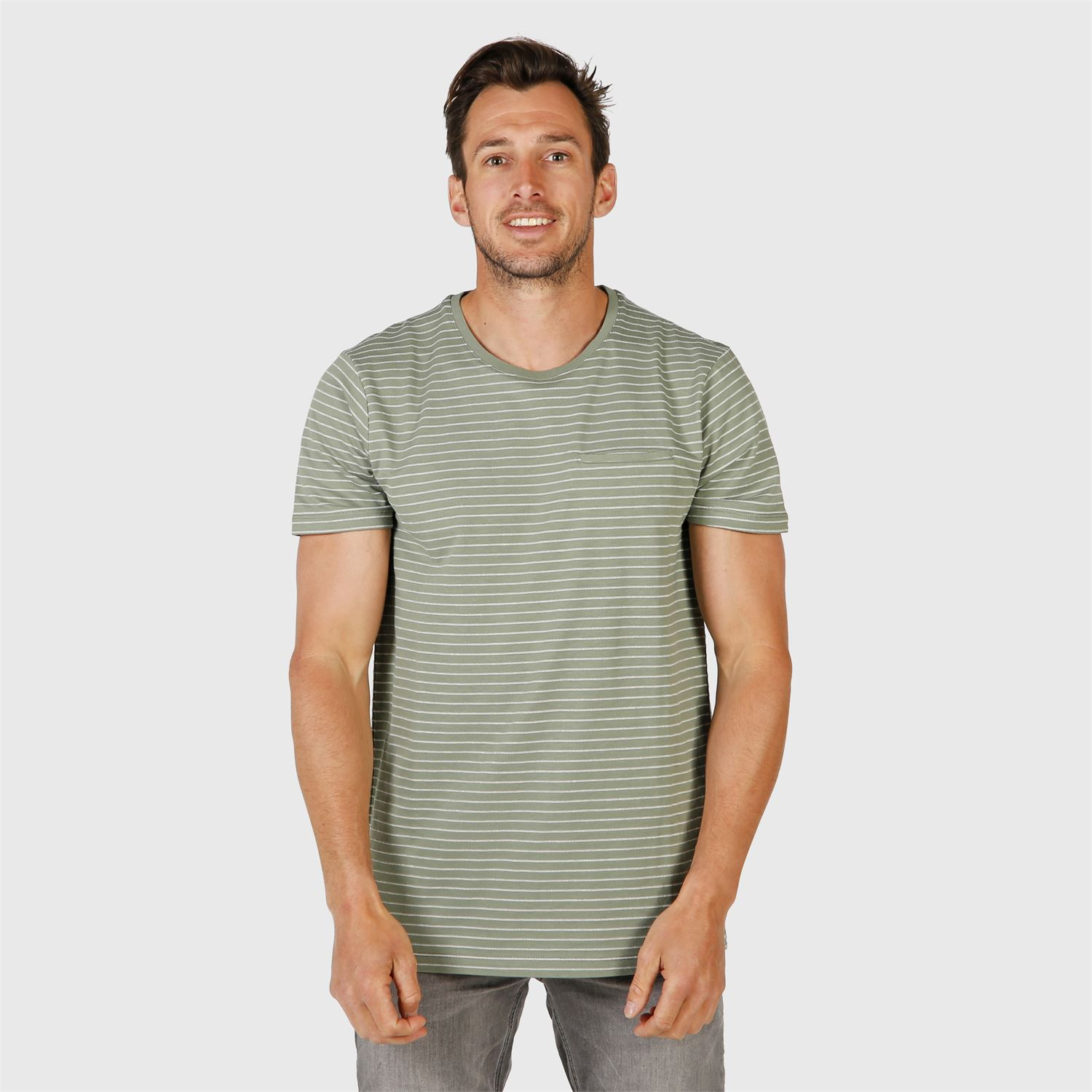 Ben-Stripe Mens T-shirt