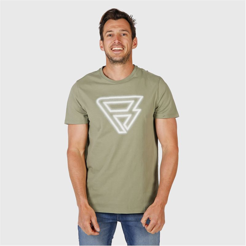 Brunotti Cold  (green) - men t-shirts & polos - Brunotti online shop