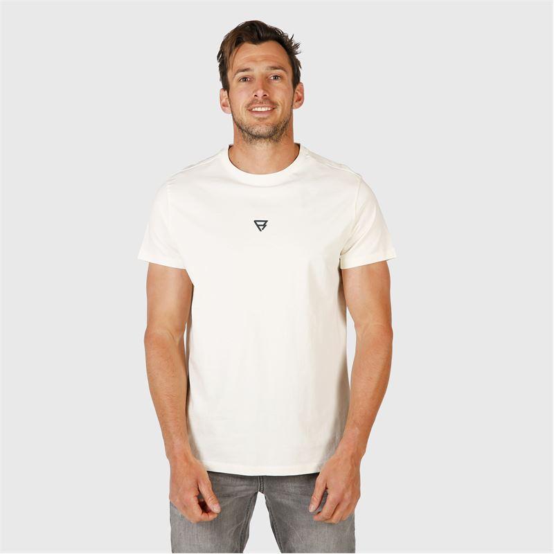 Brunotti Ivan-Backprint  (white) - men t-shirts & polos - Brunotti online shop