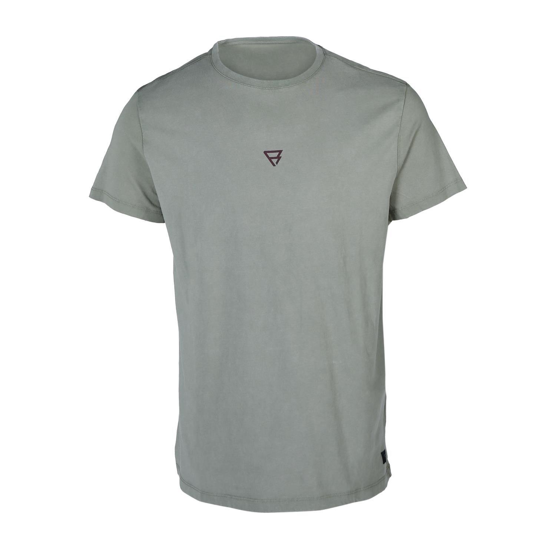 Brunotti Ivan-Backprint  (groen) - heren t-shirts & polo's - Brunotti online shop