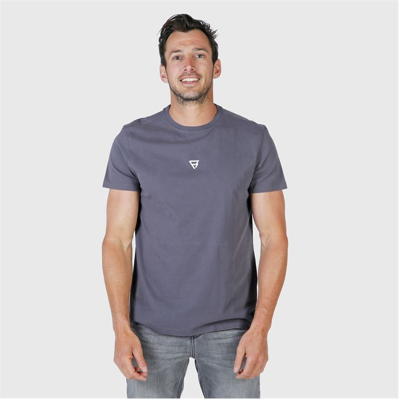 Brunotti Ivan-Backprint  (grey) - men t-shirts & polos - Brunotti online shop