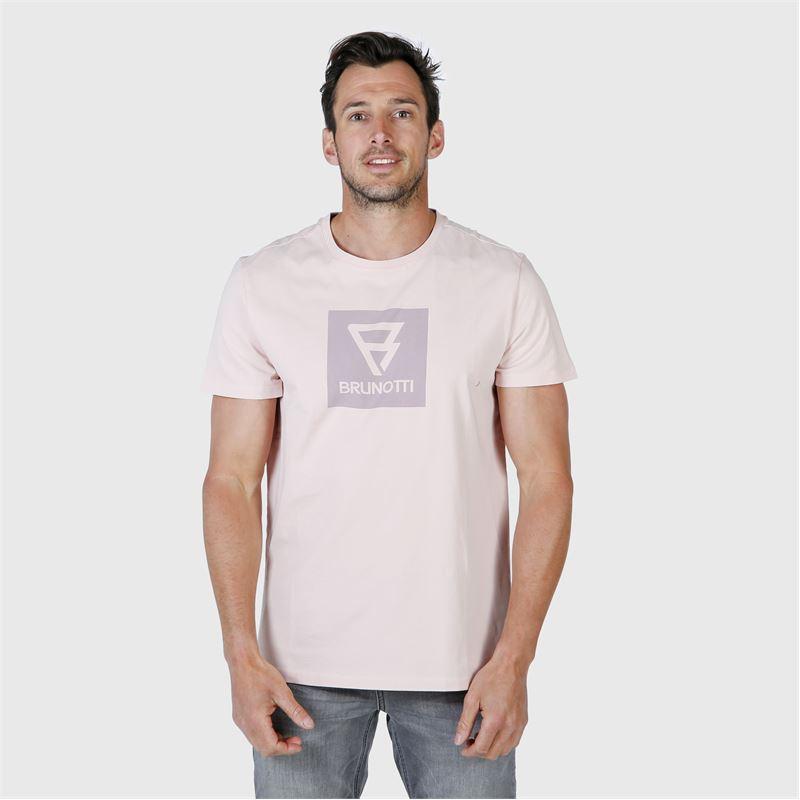 Brunotti John-Logo  (roze) - heren t-shirts & polo's - Brunotti online shop