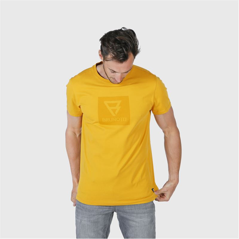Brunotti John-Logo  (gelb) - herren t-shirts & polos - Brunotti online shop