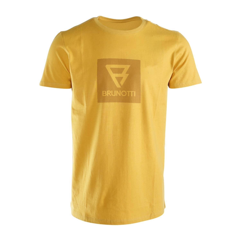 Brunotti John-Logo  (yellow) - men t-shirts & polos - Brunotti online shop