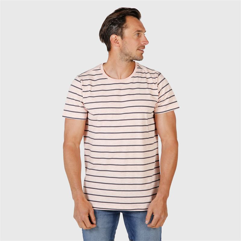 Brunotti William  (rosa) - herren t-shirts & polos - Brunotti online shop