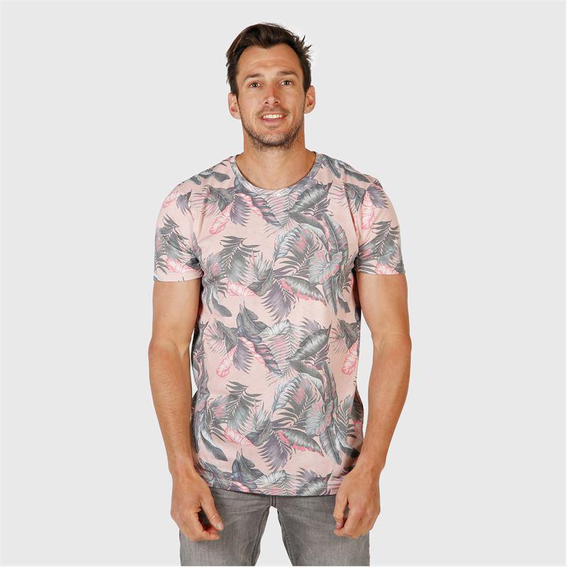 Brunotti Jason-Leaf  (pink) - men t-shirts & polos - Brunotti online shop