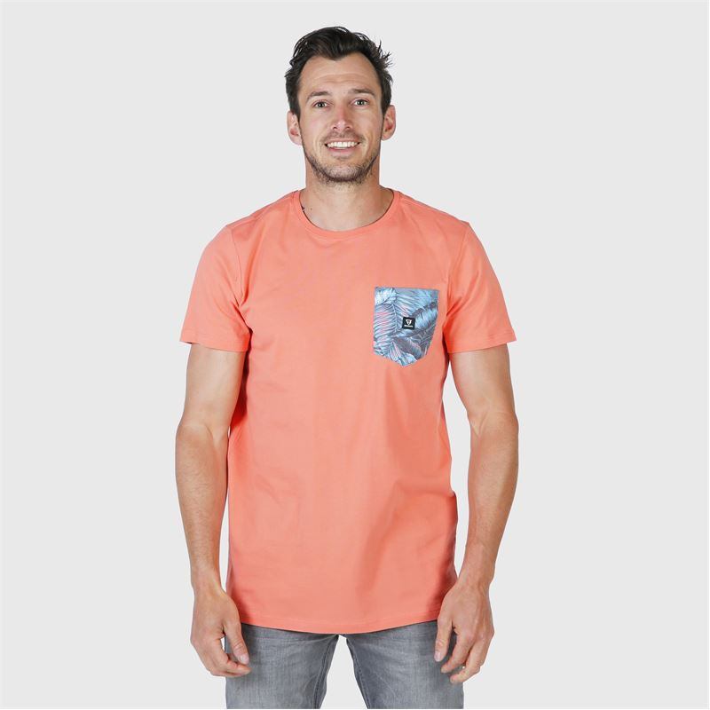 Brunotti Axle-Pkt-AO  (pink) - men t-shirts & polos - Brunotti online shop