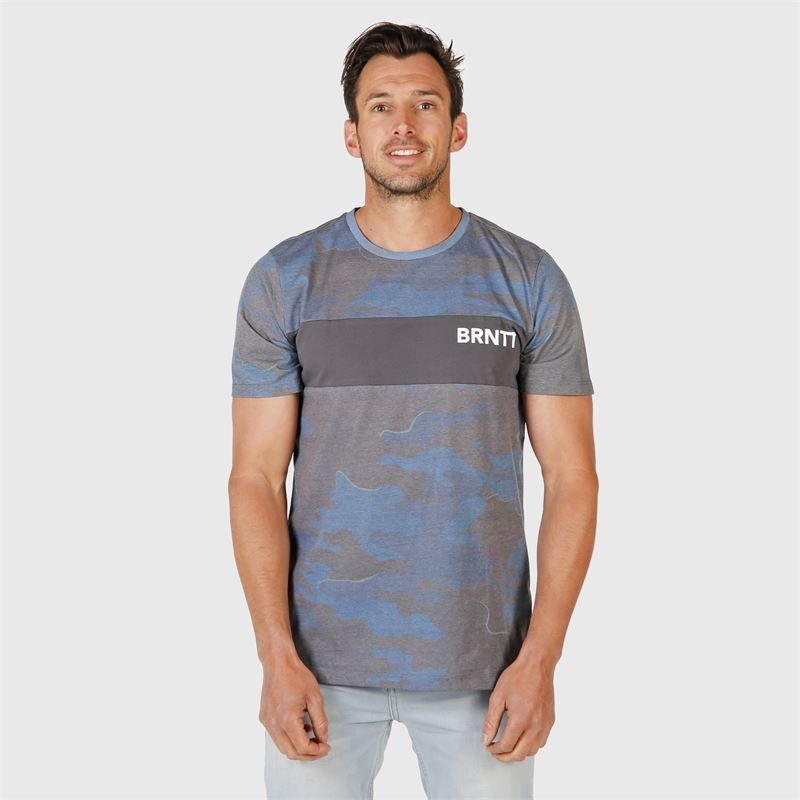 Brunotti Maxwell  (blue) - men t-shirts & polos - Brunotti online shop