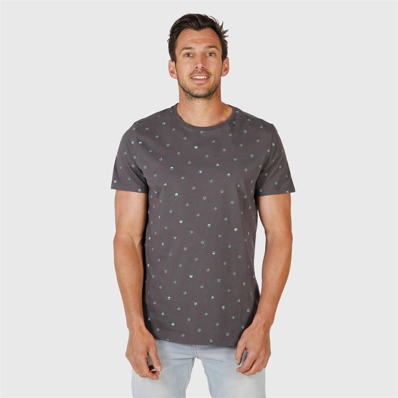 Brunotti Tim-Mini-AO  (grey) - men t-shirts & polos - Brunotti online shop