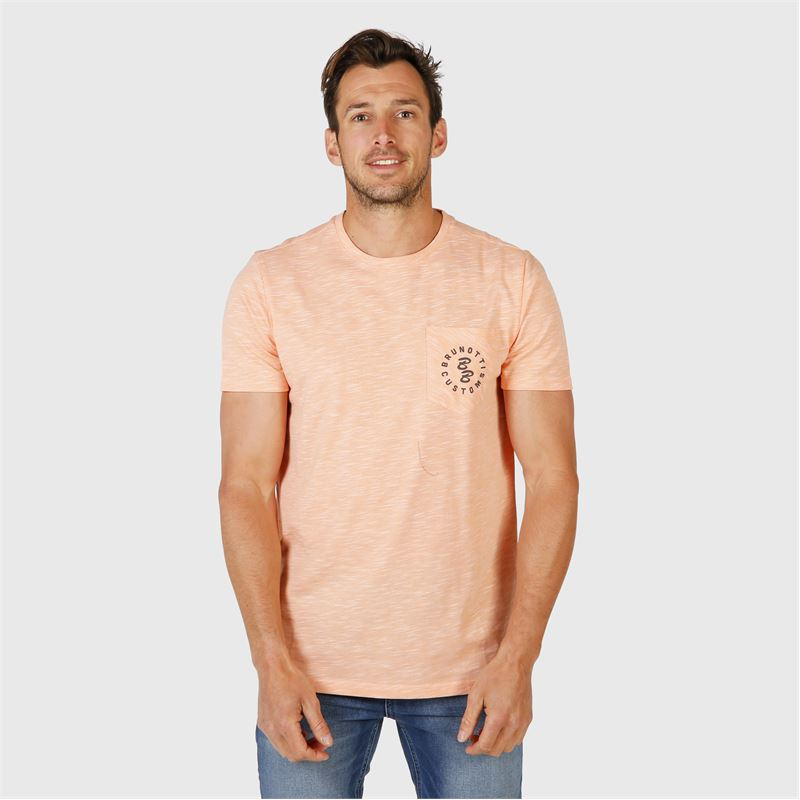Brunotti Kevin-JIT  (orange) - men t-shirts & polos - Brunotti online shop