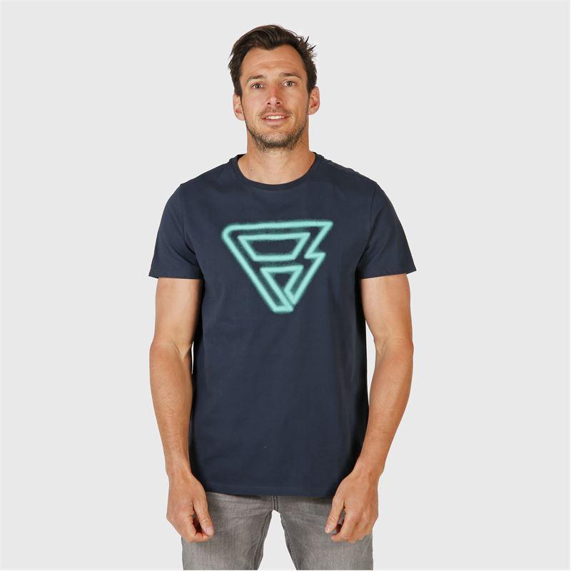 Brunotti Coldo  (blau) - herren t-shirts & polos - Brunotti online shop