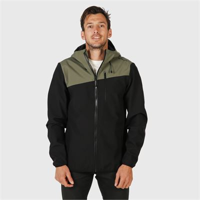 Brunotti Butcher Mens Softshell-Jacket. Beschikbaar in S,M,L,XL,XXL,XXXL (2011124233-099)