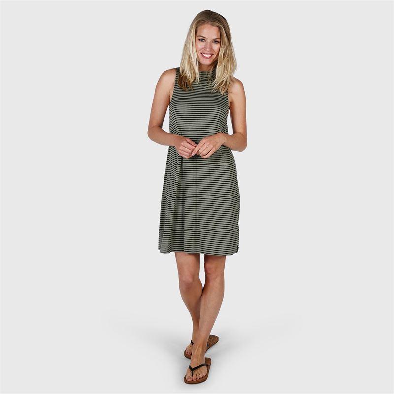 Brunotti Gabriella  (groen) - dames jurken & rokken - Brunotti online shop