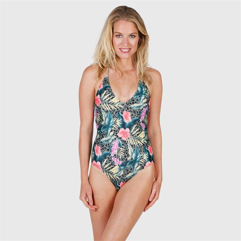 Brunotti Caipirinha-AO  (groen) - dames badpakken - Brunotti online shop