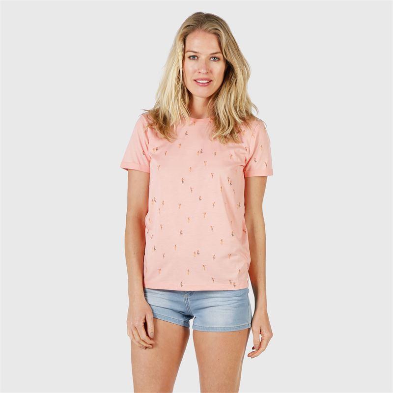 Brunotti Peyton  (geel) - dames t-shirts & topjes - Brunotti online shop