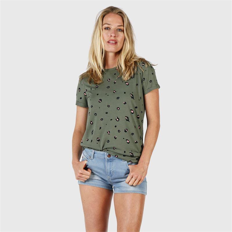 Brunotti Peyton  (groen) - dames t-shirts & topjes - Brunotti online shop