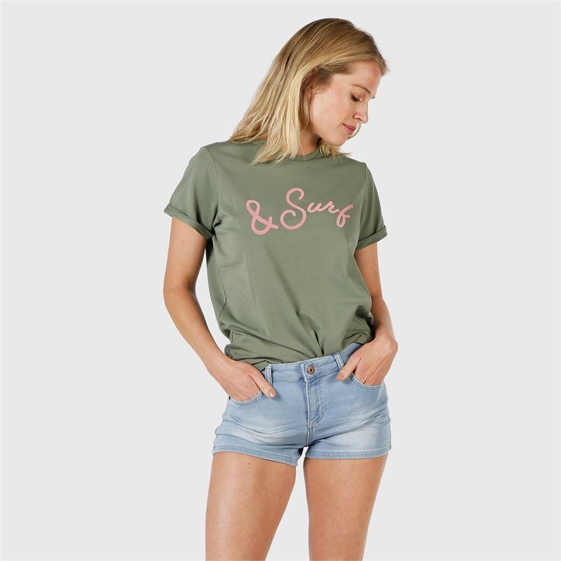 Brunotti Oulinas-Print  (green) - women t-shirts & tops - Brunotti online shop