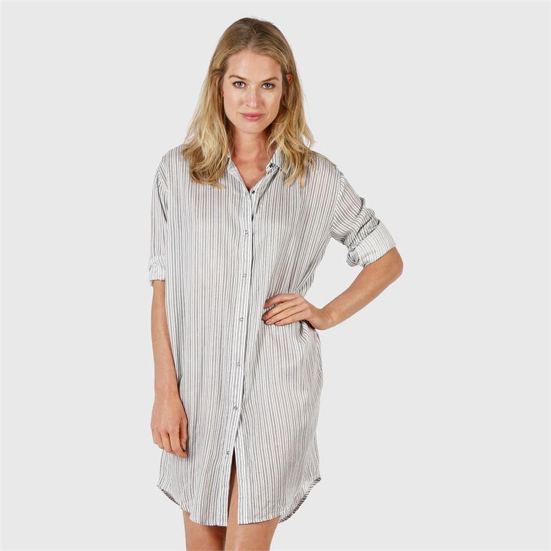 Brunotti Josephine  (wit) - dames tunieken & jumpsuits - Brunotti online shop