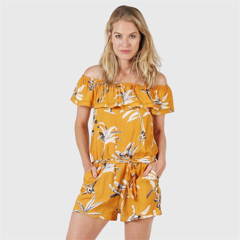 Brunotti Madeline  (geel) - dames tunieken & jumpsuits - Brunotti online shop