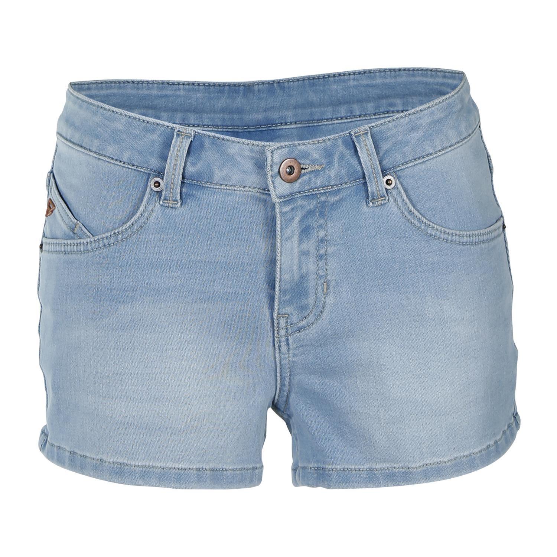 Brunotti Lara-Denim  (blauw) - dames casual shorts - Brunotti online shop