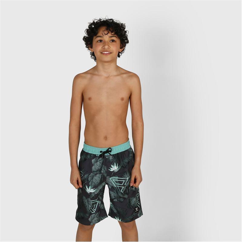 Brunotti Mason  (green) - boys swimshorts - Brunotti online shop