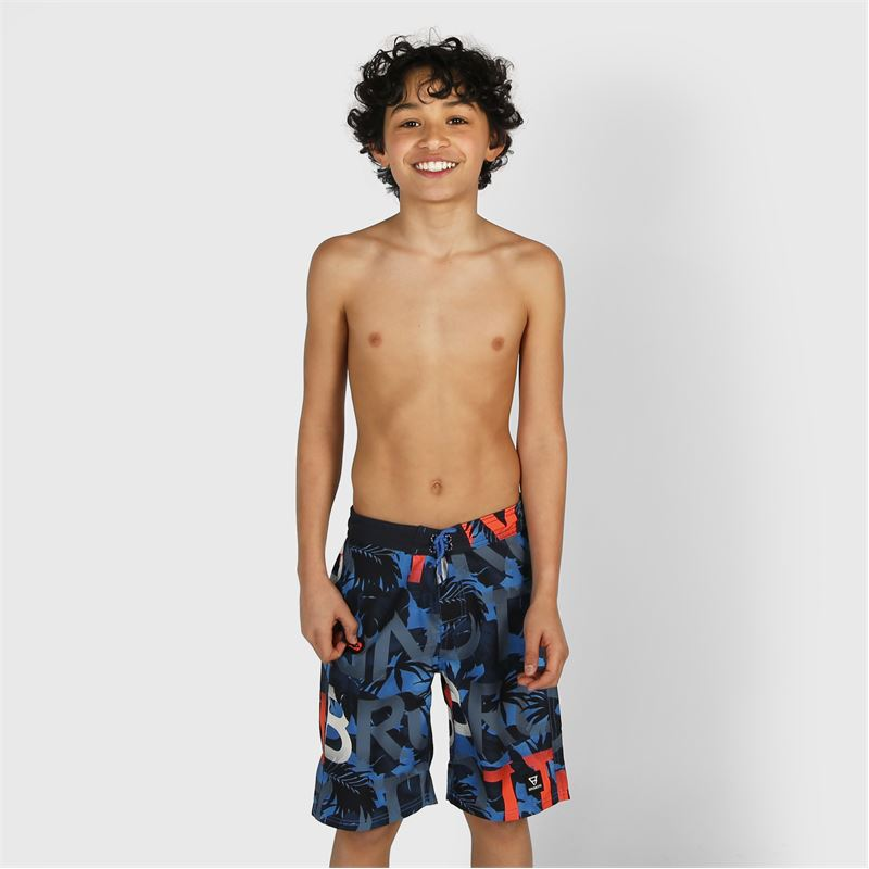 Brunotti Frye-ZIP  (blue) - boys swimshorts - Brunotti online shop