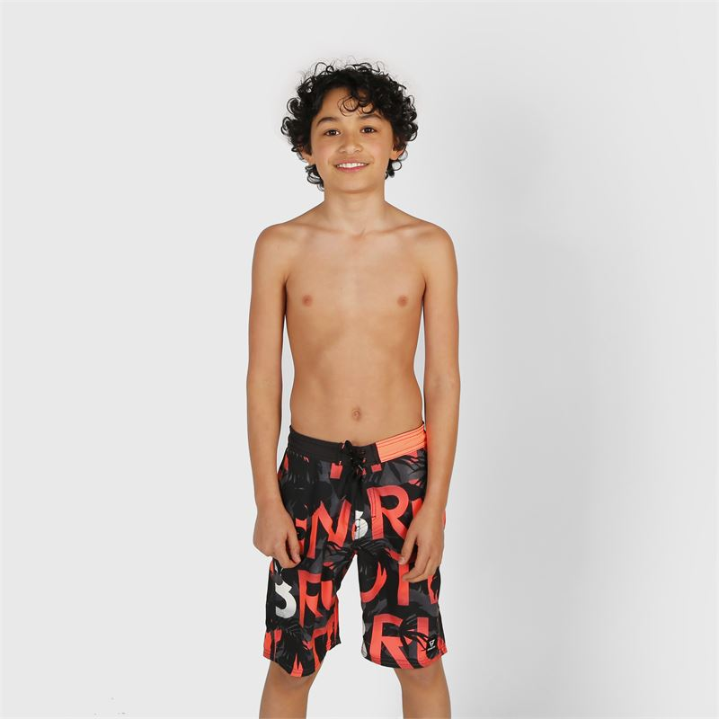 Brunotti Frye-ZIP  (grijs) - jongens zwemshorts - Brunotti online shop
