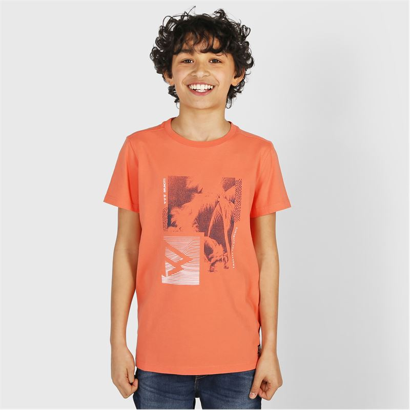 Brunotti Tim-Print  (pink) - boys t-shirts & polos - Brunotti online shop