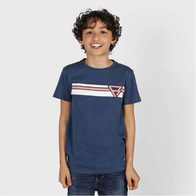 Brunotti Tim-Print  (blue) - boys t-shirts & polos - Brunotti online shop