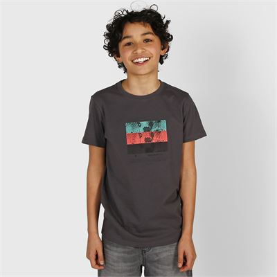 Brunotti Tim-Print Boys T-shirt. Available in 116,128,152,164,176 (2013069755-097)