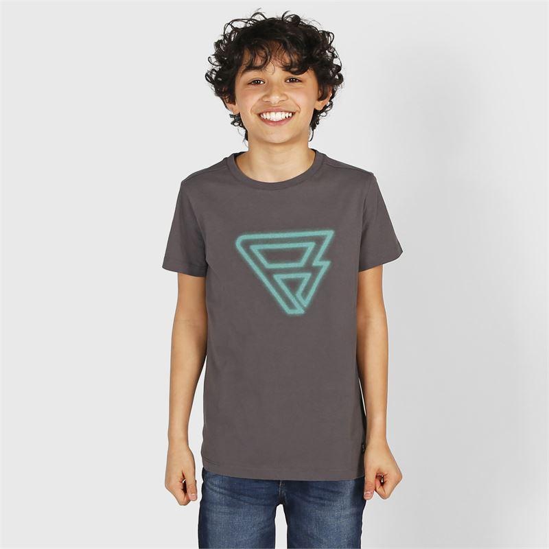 Brunotti Cold  (grijs) - jongens t-shirts & polo's - Brunotti online shop