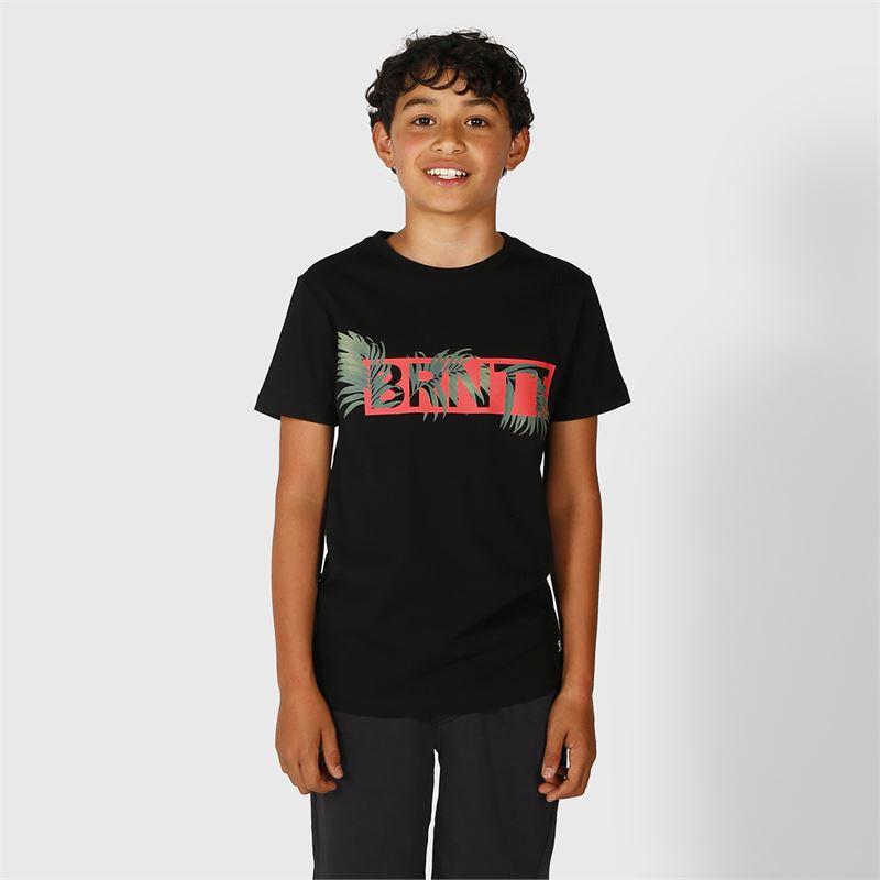 Brunotti Tyson  (zwart) - jongens t-shirts & polo's - Brunotti online shop
