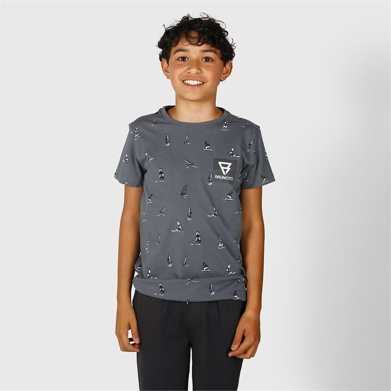 Brunotti Spotfin  (grey) - boys casual shorts - Brunotti online shop