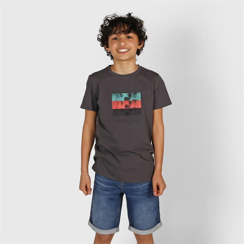 Brunotti Hangtime  (blauw) - jongens casual shorts - Brunotti online shop