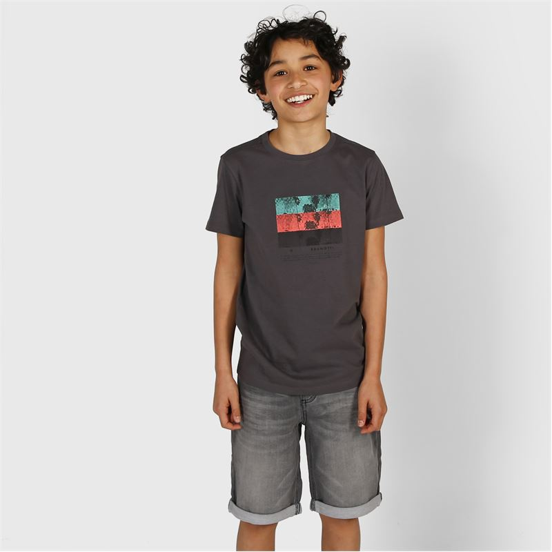 Brunotti Hangtime  (grey) - boys casual shorts - Brunotti online shop