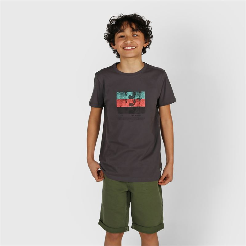 Brunotti Hangtime-Colour  (green) - boys casual shorts - Brunotti online shop