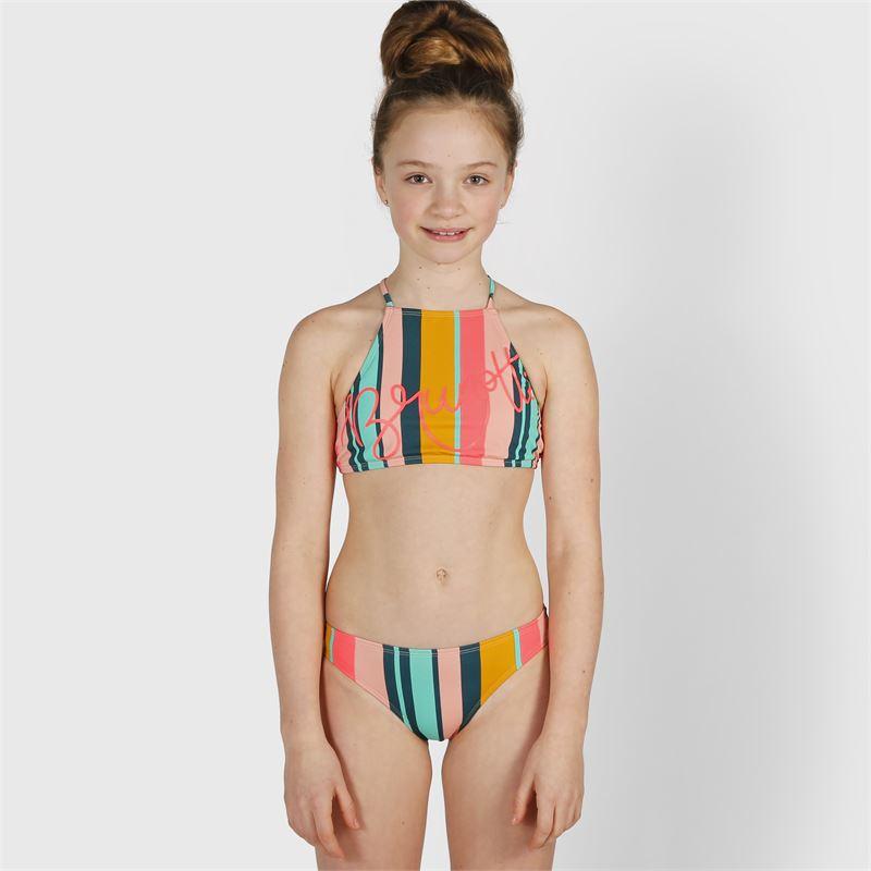 Brunotti Camellia-Stripe  (grün) - mädchen bikinis - Brunotti online shop