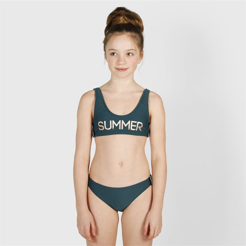 Brunotti Daarani  (groen) - meisjes bikini's - Brunotti online shop